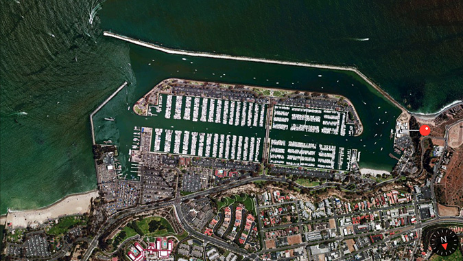 Dana Point Harbor satellite
