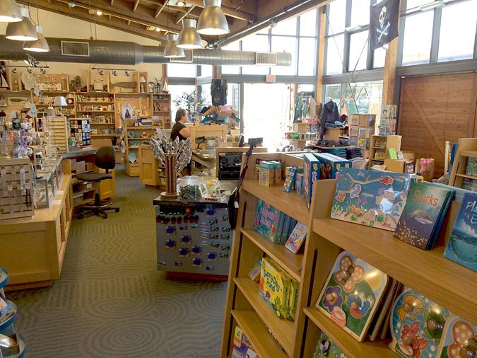 Ocean Institute gift shop