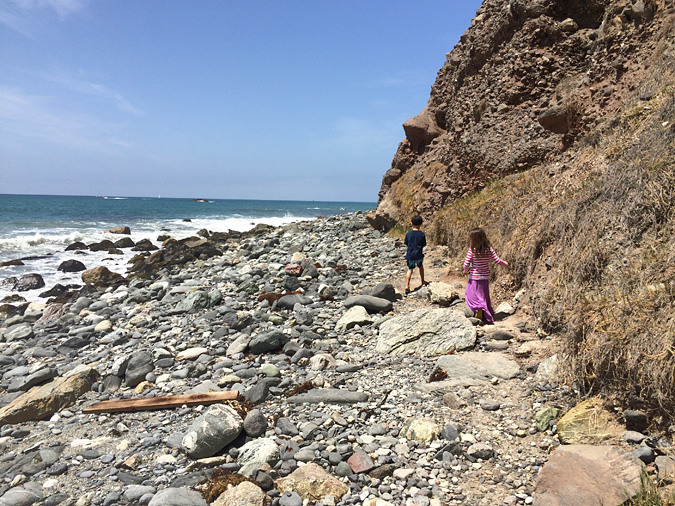 Ocean Institute rocky beach