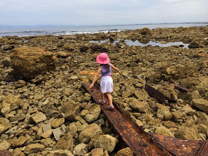 SS Dominator shipwreck remains, Palos Verdes Cove