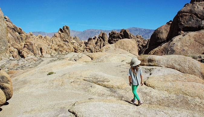 Wandering around the Alabama Hills