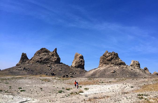 Walking through the southern pinnacles