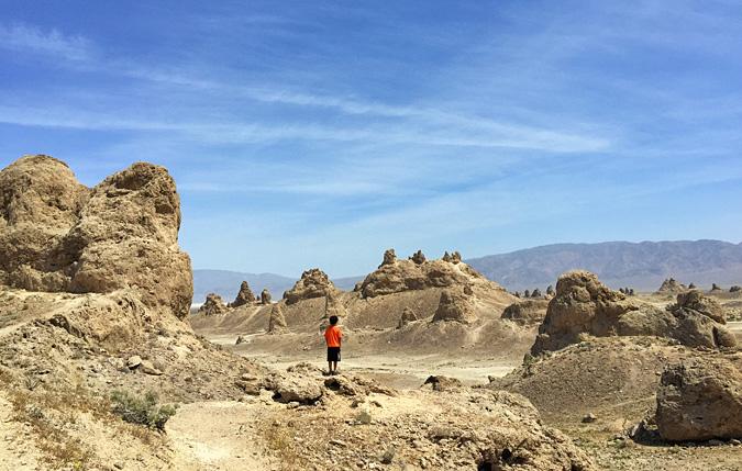 Looking toward the southern pinnacles