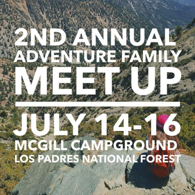 2nd Annual Adventure Family Meet-up — July 14-16, 2017