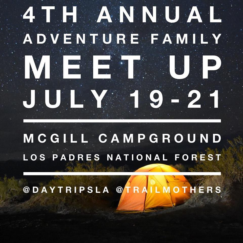 4th Annual Adventure Family Meet-up — July 19-21, 2019